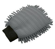 Der Waschhandschuh Mikrofaser 2in1 zeichnet sich besonders durch seine extra langen Tasseln aus wunderbar weicher und saugfähiger Mikrofaser auf.