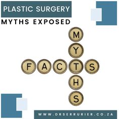 There are many misconceptions about #plastic and #cosmetic surgery. Today we are going to debunk several of the most common #myths surrounding doing the rounds… For more information or to schedule a consultation call Dr Serrurier on 011 328 0773. Alternatively email admin@drserrurier.co.za or send us a private message. #CosmeticSurgery #PlasticSurgery #DrSerrurier #DrCharlesSerrurier