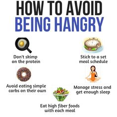 We have all been hungry to the point that we start to lose our nerve. It isn't fun and makes you lose control. With these tips, you can take control of your hunger, and put an end to being hangry! Health And Wellness, Health Fitness, High Fiber Foods, Protein Foods, Stress Management, How To Better Yourself, Weight Loss Tips, Fitness Tips, Cravings