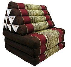 Thai Triangle Pillow Foldout Triangle Cushion 10 hole 3 fold Kapok 100%…