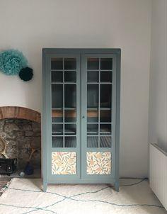 Armoire parisienne revisitée par Tawara -en vogue- Nantes Deco, Vogue, Windows, Furniture, Antique Furniture, Nantes, Chart, Decor, Window