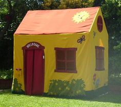 Playhouse House Plans | Additional tents(haunted house tent, Christmas gingerbread house