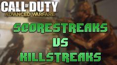 "Call of Duty Advanced Warfare: ""Scorestreaks vs Killstreaks"" (Black Ops 2 Multiplayer Gameplay)"