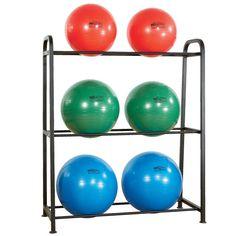 6-Ball Stability Ball Rack (Steel)
