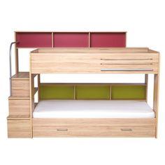 Harbour Natural Storage Bunk Bed - All Children's Beds - Beds & Mattresses