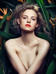 TROPICAL HEAT | beauty editorial for COVER magazine on Makeup Arts Served