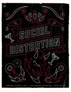 GigPosters.com - Social Distortion