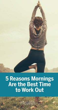 Let us make the case to workout early in the morning with these five science-backed reasons to start setting your alarm a little bit earlier. Health News Articles, News Health, Health And Fitness Tips, Workout Guide, Workout Challenge, Workout Routines, At Home Workout Plan, At Home Workouts, Yoga Benefits