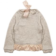 Girl's Sweatshirt - Cloud
