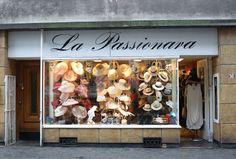 hat shop display