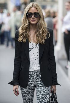 Olivia Palermo on our list of the 10 best beauty look of the week.