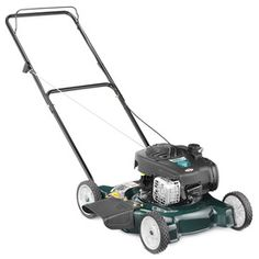 Bolens 125-cc 20-in Pull Start Side Discharge Gas Push Lawn Mower with Briggs & Stratton Engine