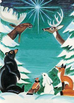 """My Wonderful Christmas Tree"" holiday cards, Islandport Press"