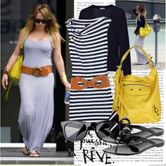 Hilary Duff, created by turkus on Polyvore