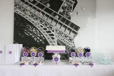 Una foto como fondo para una fiesta Paris... / A photo as backdrop for a Paris party...