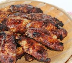 Grilled Garlic Chicken Wings