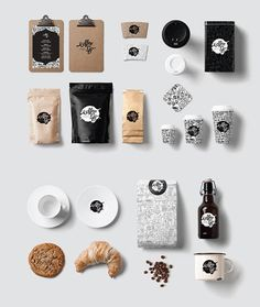 20 Creative Coffee Branding Examples You Need to See Bakery Packaging, Food Packaging Design, Coffee Packaging, Brand Packaging, Branding Design, Logo Design, Branding Ideas, Coffee Shop Branding, Coffee Shop Business