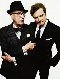 Geoffrey Rush & Colin Firth