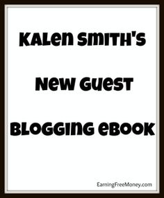 Kalen Smith has written a excellent eBook about being successful at guest blogging.  Check it out free!