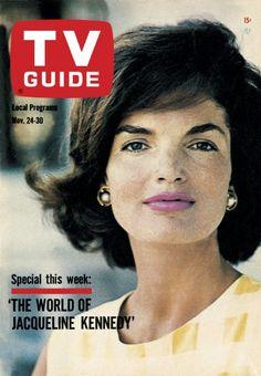 TV Guide, November 24, 1962 - Jacqueline Kennedy