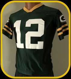 c9db49660 GREEN BAY PACKERS AARON RODGERS TEAM APPAREL JERSEY KIDS LARGE 10-12 FREE  SHIP #