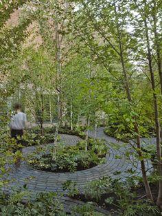 Monk's Garden at Isabella Stewart Gardner Museum, MVV, Boston