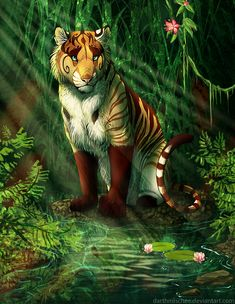 Jungle by Whiluna.deviantart.com on @DeviantArt