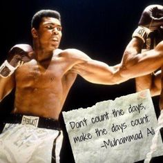 Muhammad Ali-best athlete ever known.