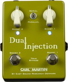 Carl Martin DUAL INJECTION clean booster pedal