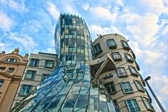 Strange and Unusual Buildings From Around the World pics) Unusual Buildings, Interesting Buildings, St Louis City Museum, Gangnam District, Types Of Forests, Prague Czech Republic, Unusual Homes, Urban Planning, Beautiful Architecture
