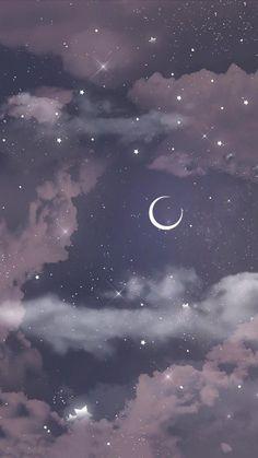 Cute Galaxy Wallpaper, Night Sky Wallpaper, Butterfly Wallpaper Iphone, Dark Wallpaper Iphone, Phone Wallpaper Images, Iphone Wallpaper Tumblr Aesthetic, Anime Scenery Wallpaper, Aesthetic Pastel Wallpaper, Wallpaper Pink Cute