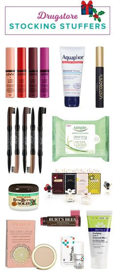 The holiday season is here! It's not too early to start shopping for cheap stocking stuffers. For all of the women on your shopping list, get some drugstore makeup products. Celebrity makeup artists share their must haves.