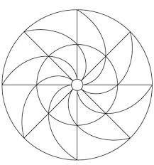 Resultado De Imagen De Como Dibujar Mandalas Faciles Leccion De Arte De Mandala Mandalas Dibujos Con Mandalas
