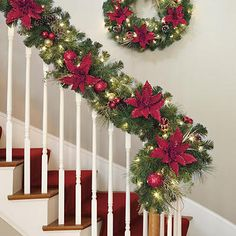 Decorated 9' Artificial Garland