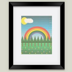 A New Day Framed by Tammy Kushnir on BoomBoom Prints
