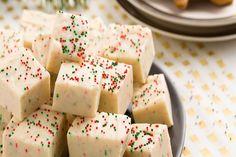 This Gingerbread Fudge just tastes like Christmas.