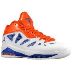 sports shoes 81a61 b961d Jordan Melo M8 Advance - Men s - White Game Royal Team Orange. MYKNICKER ·  KNICKS SNEAKERS · Nike Air ...