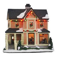 Christmas Village Houses, Christmas Village Display, Christmas Villages, Old Fashion Christmas Tree, Retro Christmas, Primitive Christmas, Country Christmas, Primitive Crafts, Christmas Christmas
