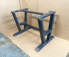 Turned A-Shaped Modern Steel Base Design Steel Table Legs 2