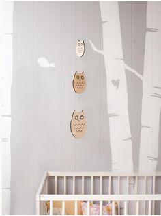 Modern Baby Co. owl mobile