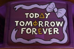 today, tomorrow, forever. DPhiE
