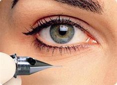 Yep, I have it!  Love it!  (yes, it hurt) Permanent eyeliner