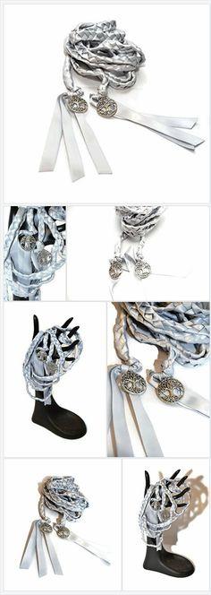 Silver Elvish Tree Of Life Wedding Handfasting Cord V2 ~ Wedding Ceremony ~ Handfasting ~ Celtic ~ Handfasting Ceremony ~ Divinity Braid ~ Celtic Handfasting ~ Tree of Life https://www.amazon.com/dp/B077MRGT4B