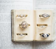 Gorgeous vintage Engagement rings with unique and timeless designs from Victor Barbone Jewelry!