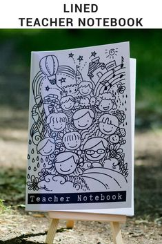 Teacher notebook Teacher Notebook, Teacher Gifts, Stationery, Make It Yourself, Education, How To Make, Paper Mill, Presents For Teachers, Stationery Set