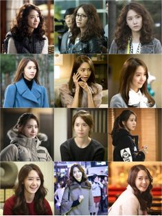 """SNSD YoonA Hair Style @ TV Drama """"Prime Minister and I"""""""