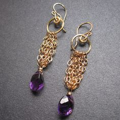 Venus 75 Hammered dangle earrings with your by CalicoJunoJewelry, $68.00