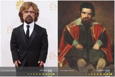 Peter Dinklage | Don Sebastian de Morra Painting, Time Travel, Celebs, Figurine, Painting Art, Paintings, Painted Canvas