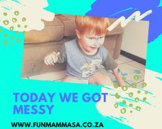 Some days we get messy - Mamma & Bear Everything Is Blue, Instagram Challenge, Wet Wipe, Finger Painting, Arts And Crafts Projects, Sensory Activities, This Is Us, Challenges, Bear