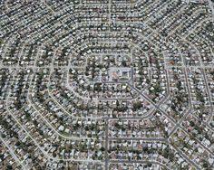 Arte y Arquitectura: Fotos aéreas de la expansión urbana en ciudades estadounidenses